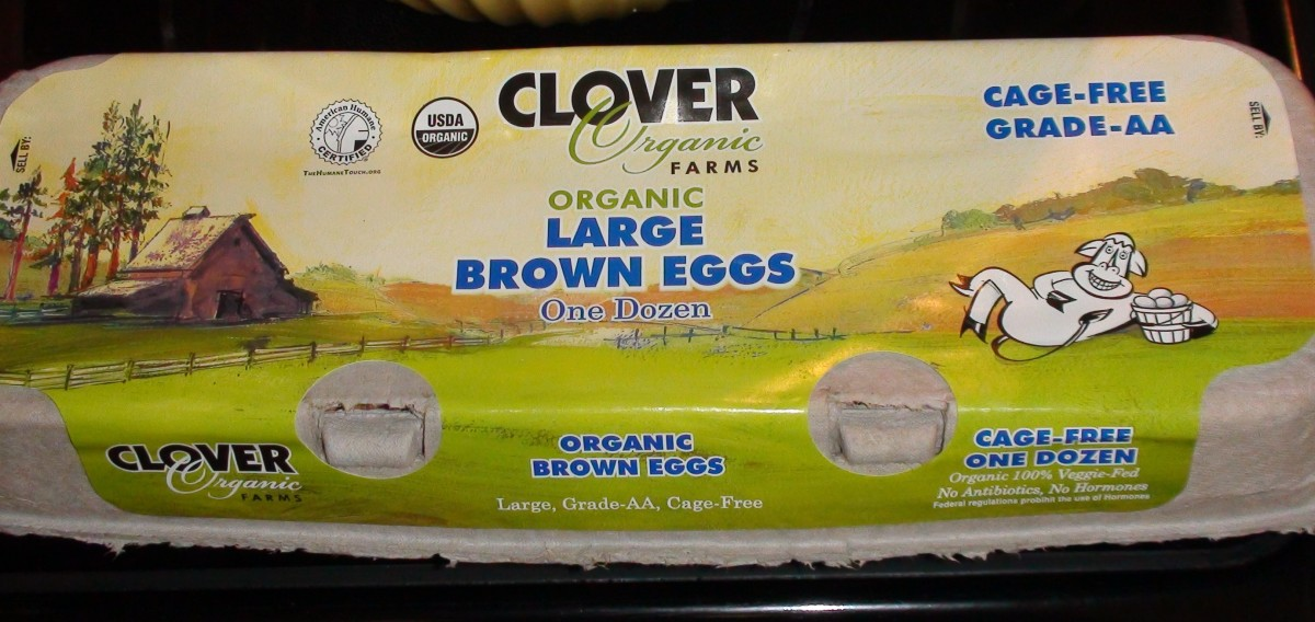 I'm very particular about my ingredients. I always use organic, non GMO when possible. Clover is a local California brand I occasionally use.