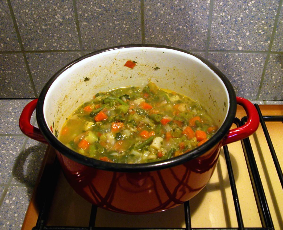 Mama's Split Pea Soup Recipe