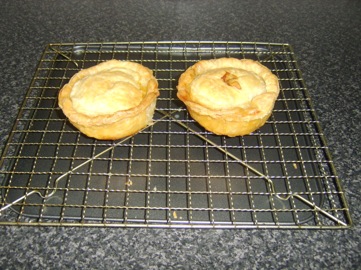 An alternative version of the Scotch Pie, made with puff pastry and beef
