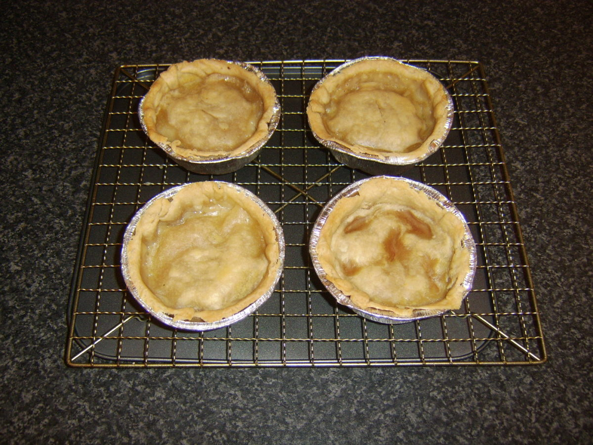 Traditional lamb and hot water pastry Scotch pies