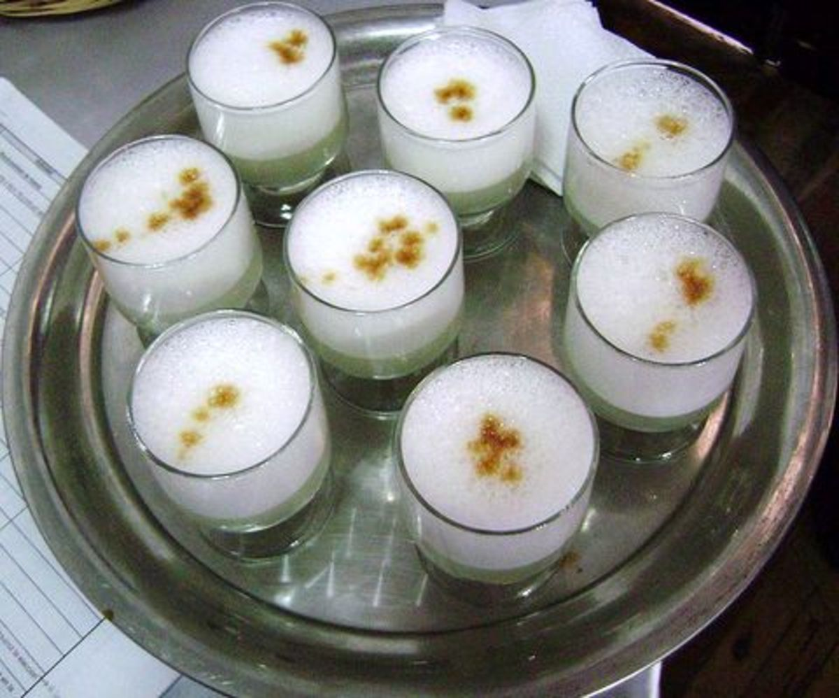 Pisco Sours Ready to Serve