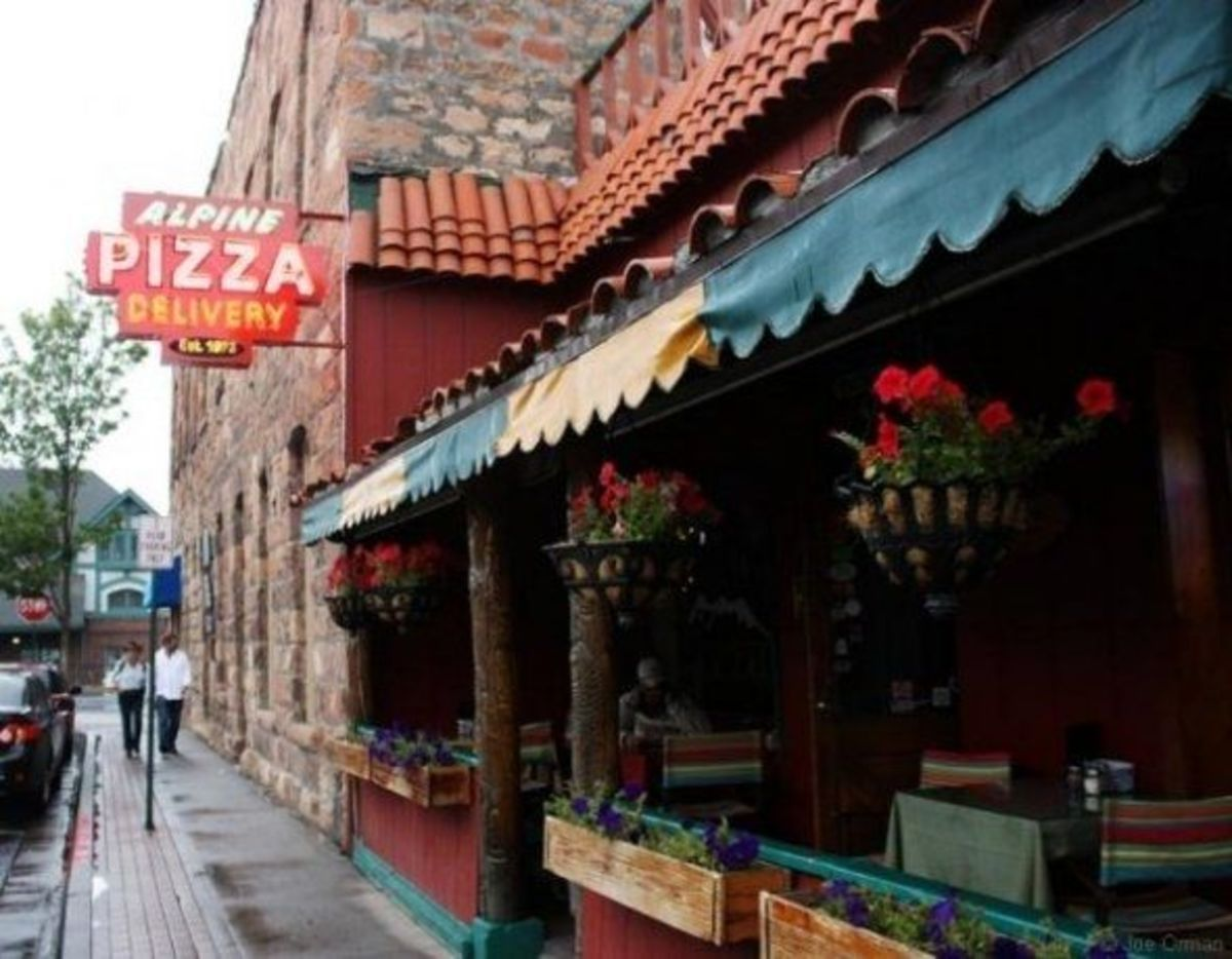 Alpine Pizza in downtown Flagstaff