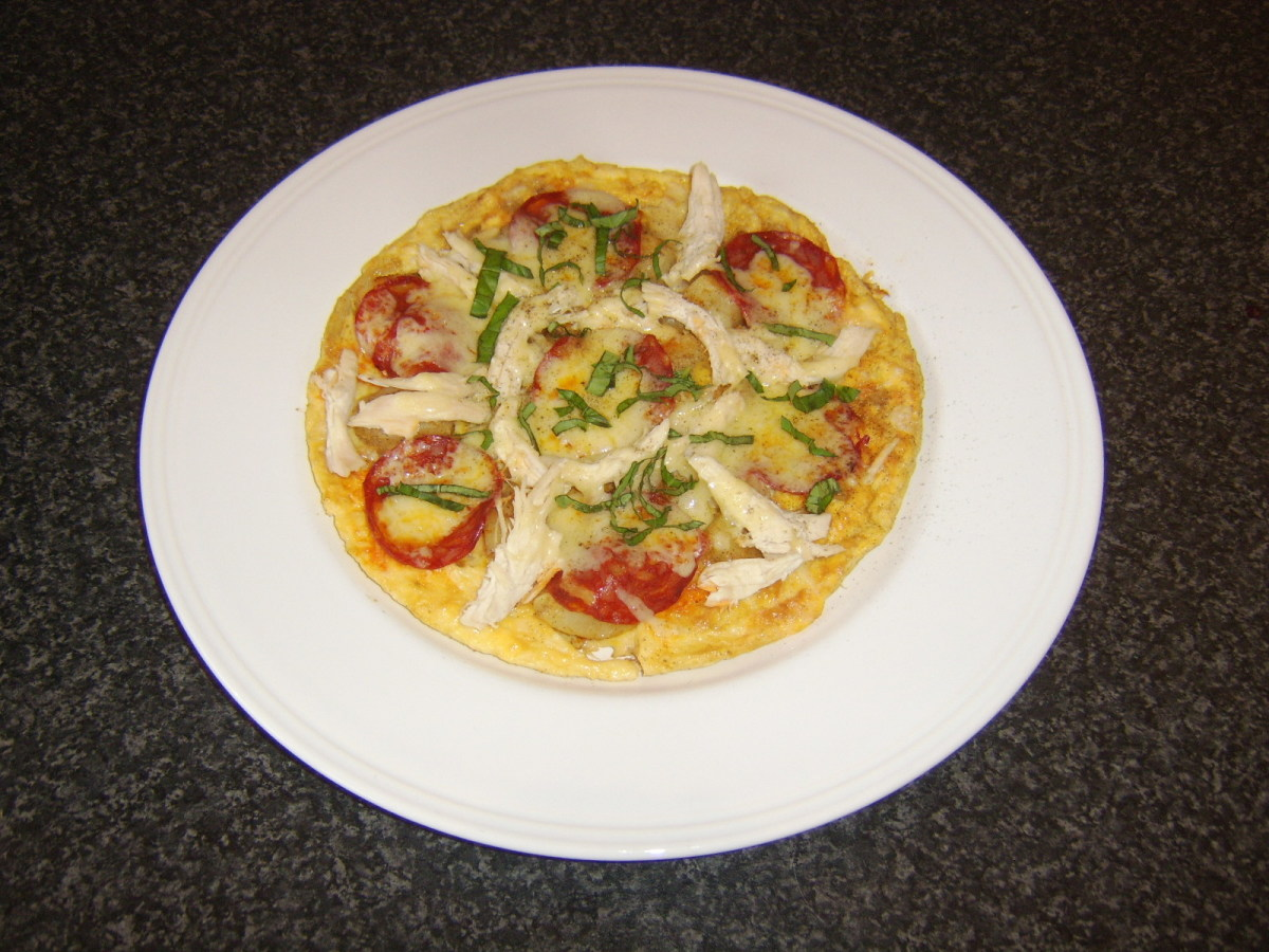 Chicken Pizza Omelette Recipes