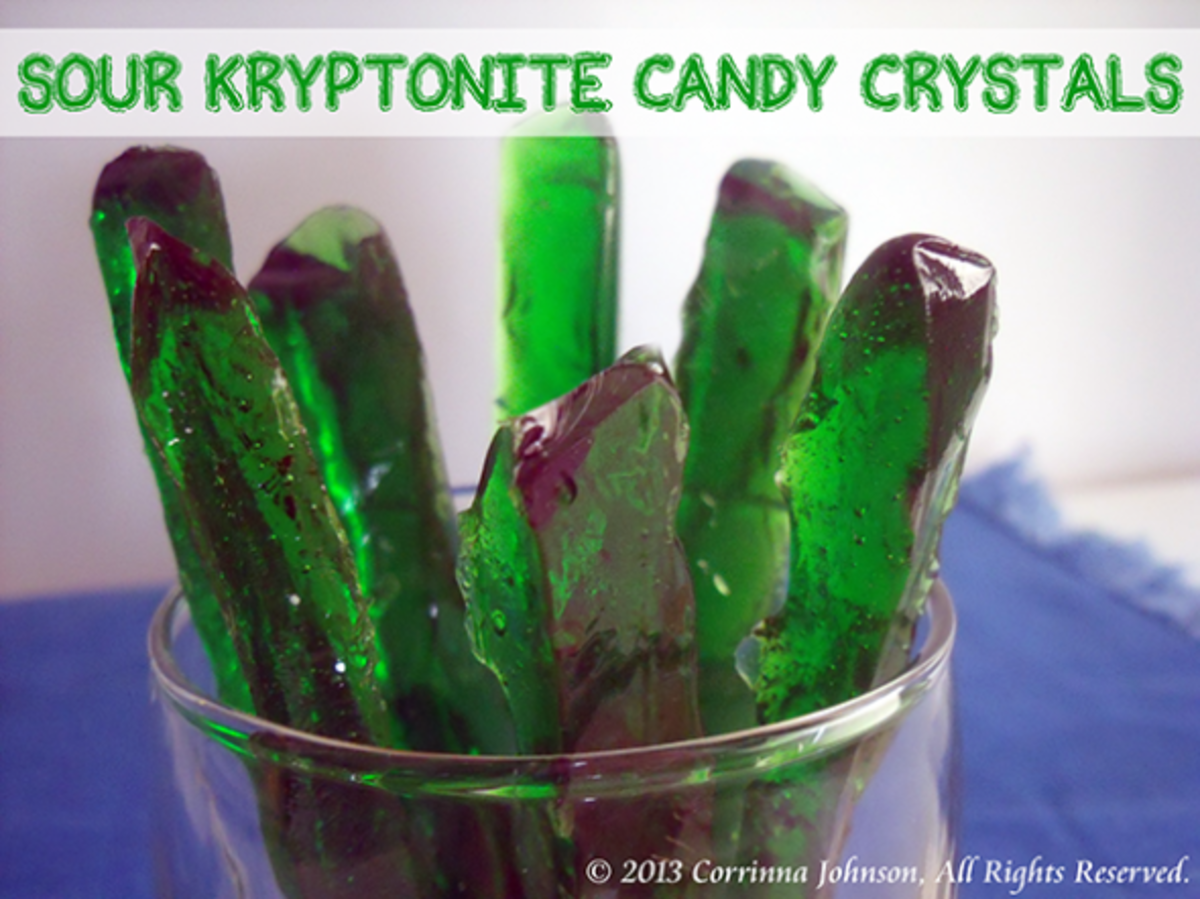 Sour Kryptonite Candy Crystals Recipe