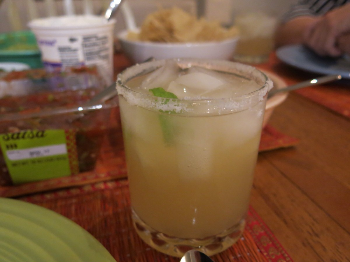Margaritas are a natural pairing for Mexican dishes