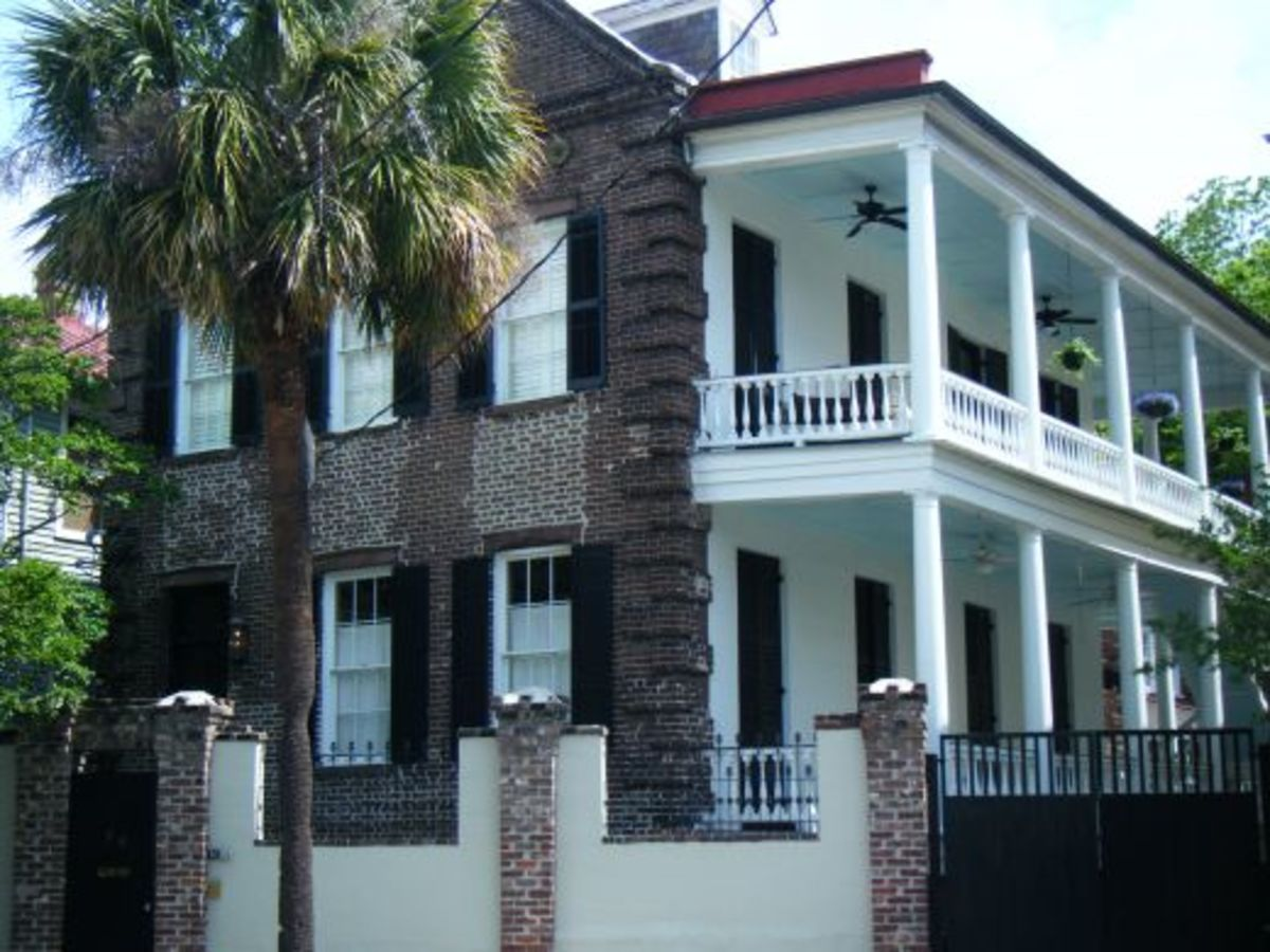 My grandmother grew up in this house, in Charleston.