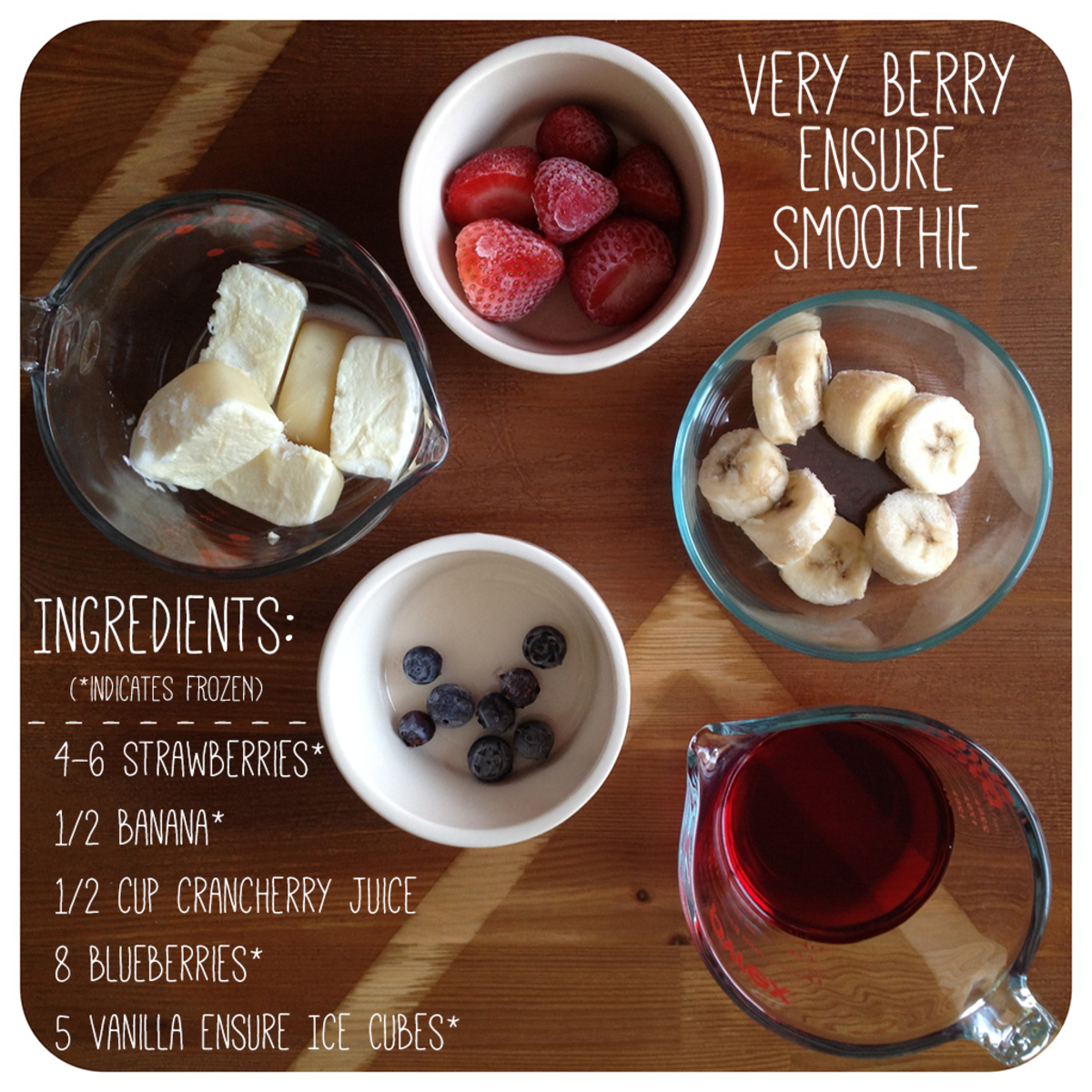 Recipe for Berry Smoothie with Frozen Mixed Berries