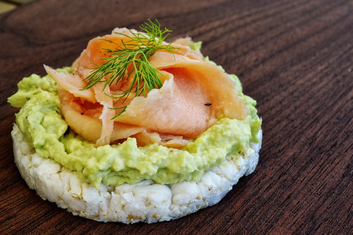 Try the cilantro based sauce on a rice cake with a little salmon and a spring of dill.