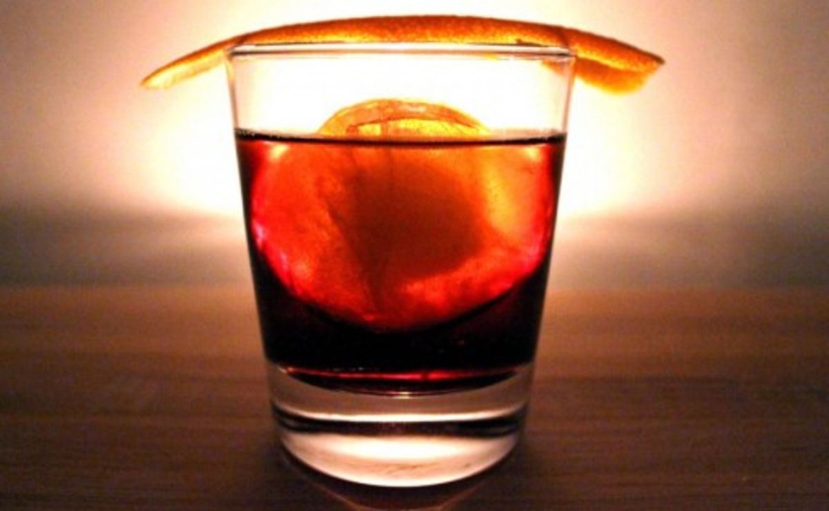 Count Camillo Negroni Classic Cocktail