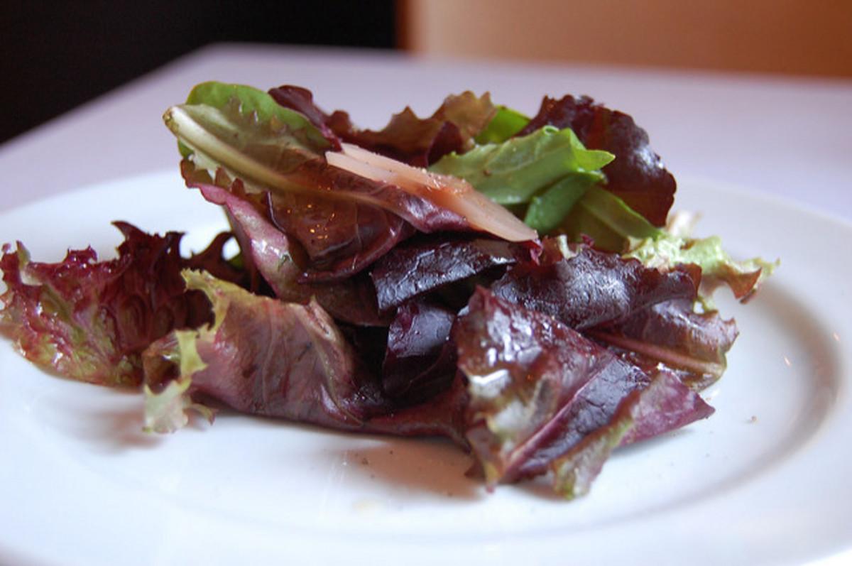 Try this delicious maple vinaigrette!