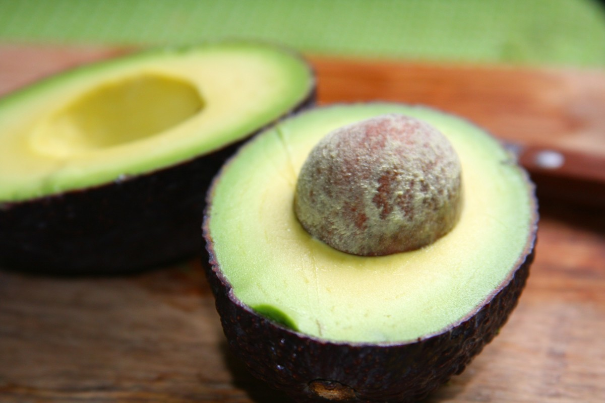 Avocados give salad dressing a creamy texture.