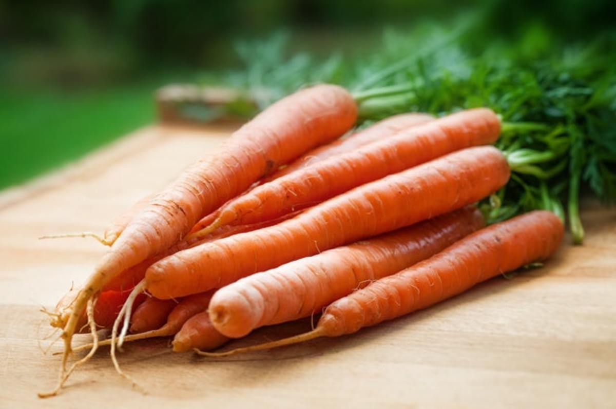 Carrots and ginger make the base for a great dressing.