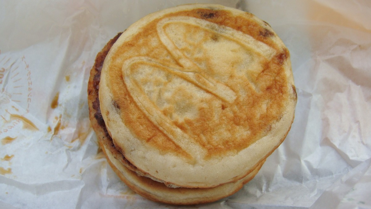 Could you imagine swapping out this sausage patty for a piece of chicken to create the delicious chicken mcgriddle?
