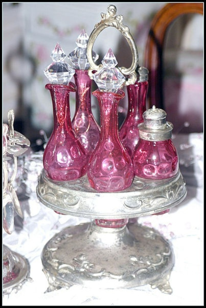 19th century - Victorian cruet set