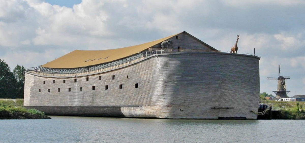 Noah's Ark full-size exhibit in Germany.