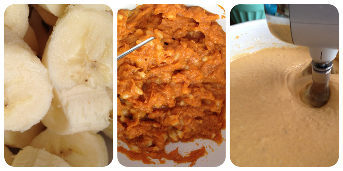 Bananas recipes and recipes with pumpkin