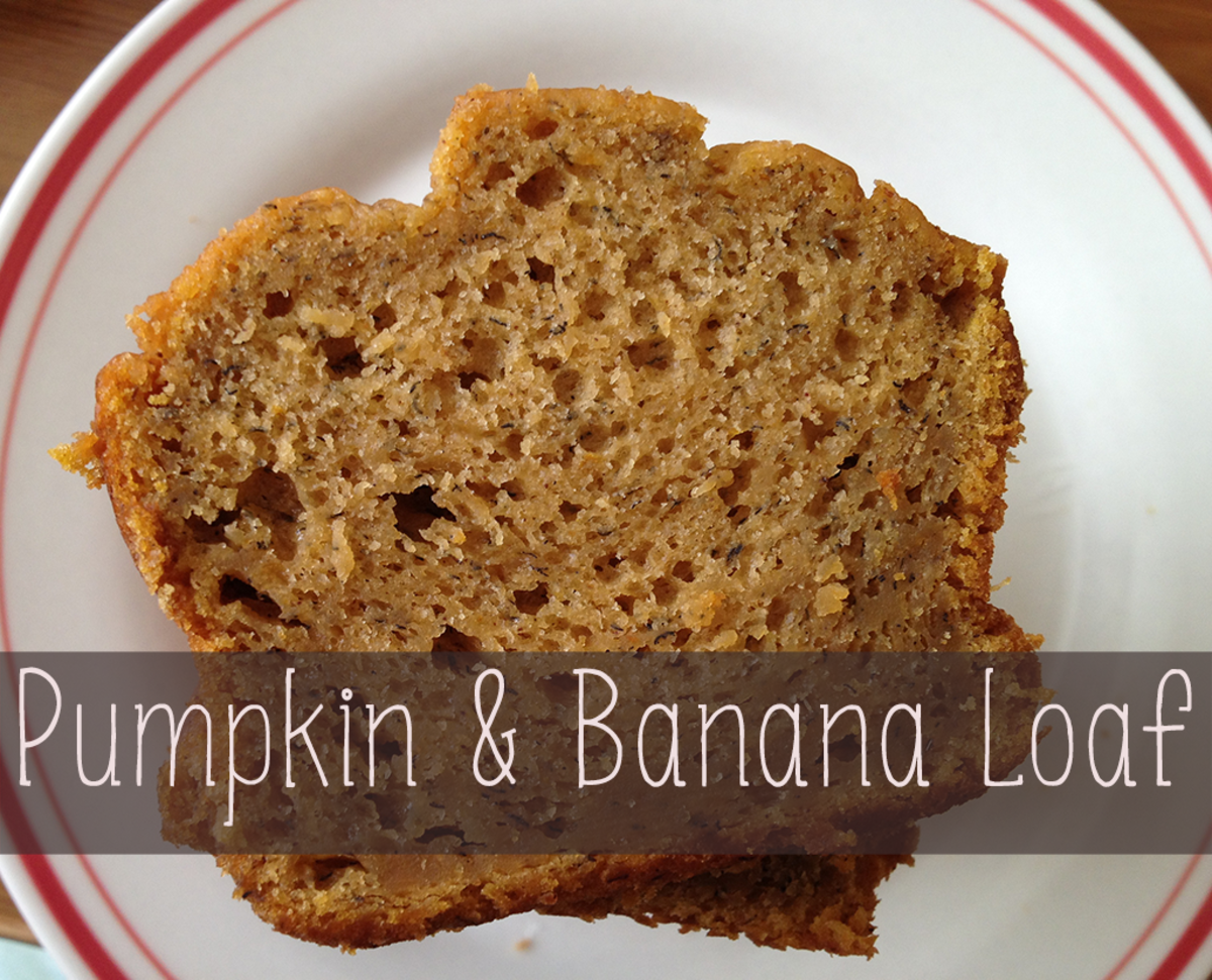 Pumpkin and Banana Loaf Recipe