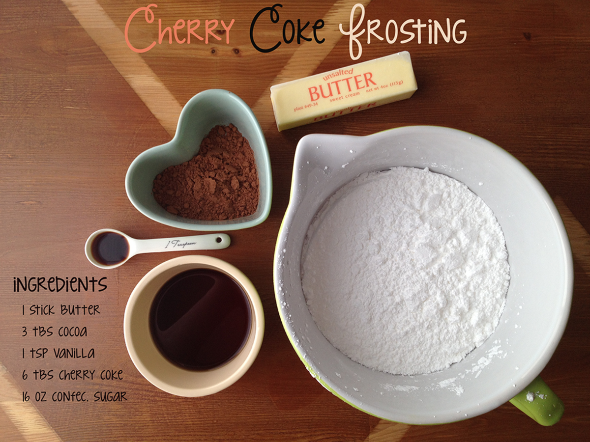 Coca Cola Cake Frosting