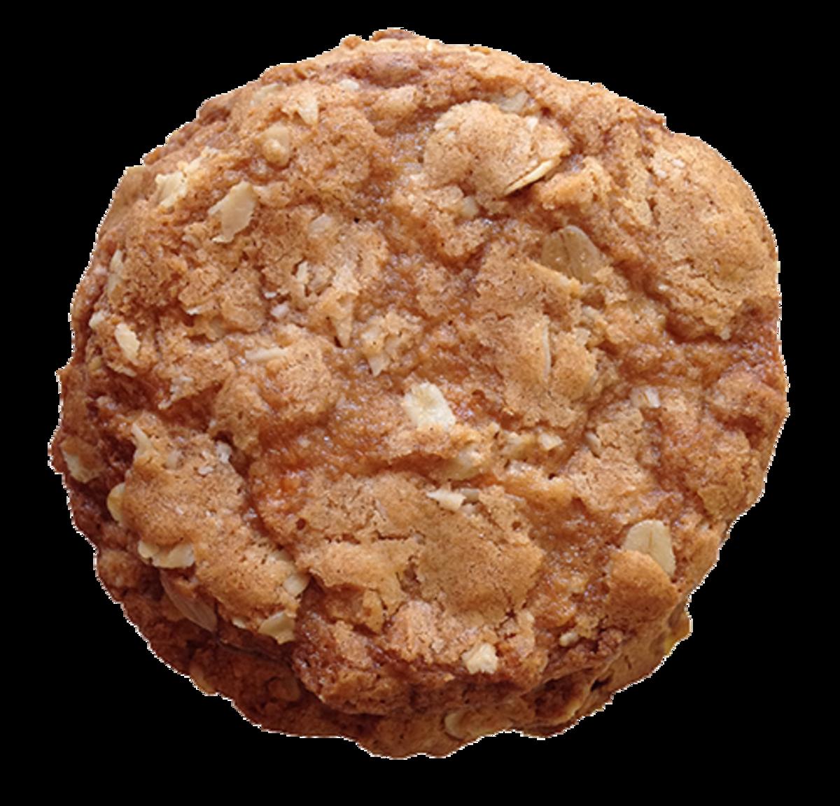 Pumpkin Spice Oatmeal Cookie Close-Up