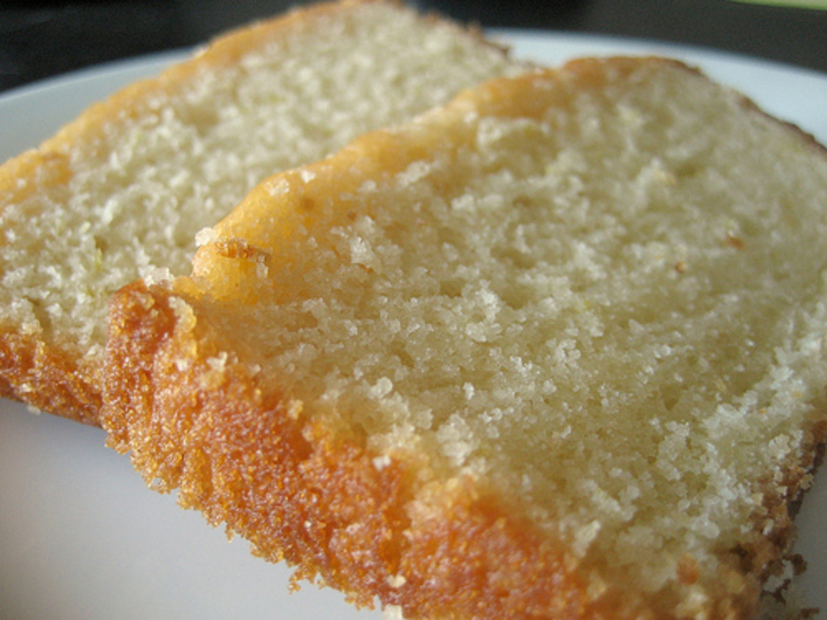 Lemon Bread.