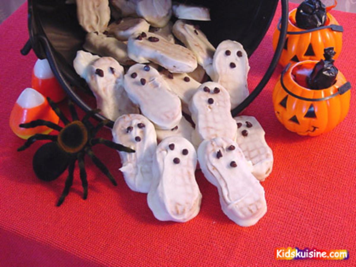 Nutter Butter ghosts.