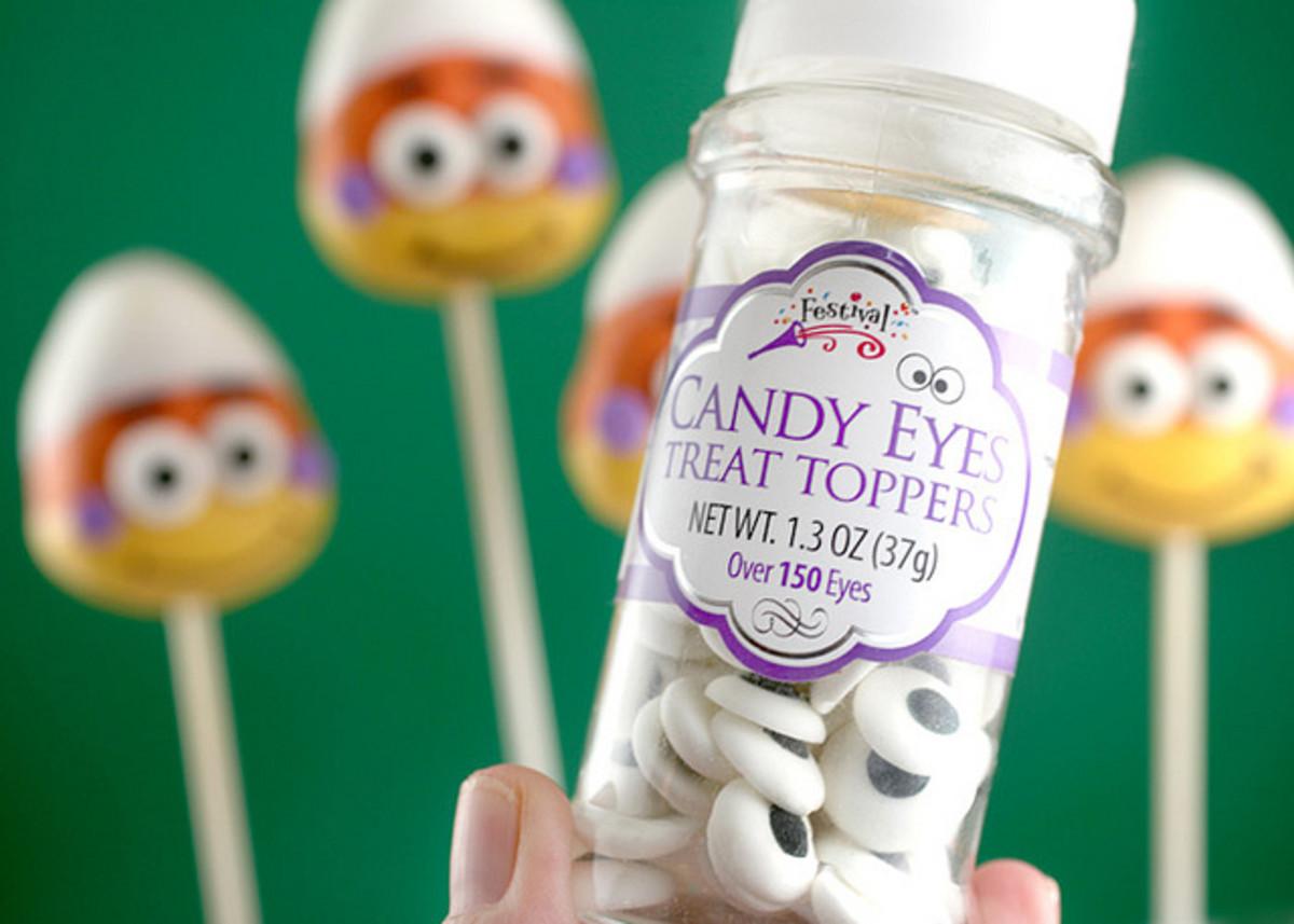 Candy eyes.