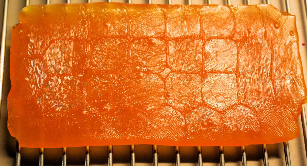Edible Tray for Shortbread Gift.