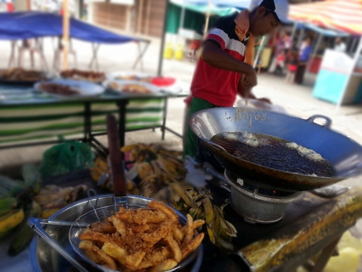 Image result for goreng pisang street vendor