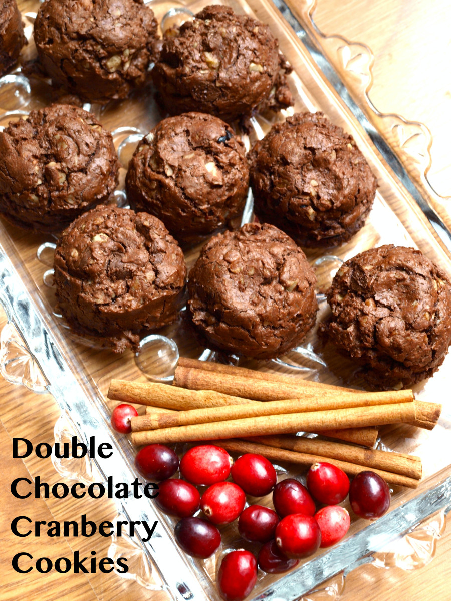 These cookies are delicious, especially when they are still slightly warm from the oven.