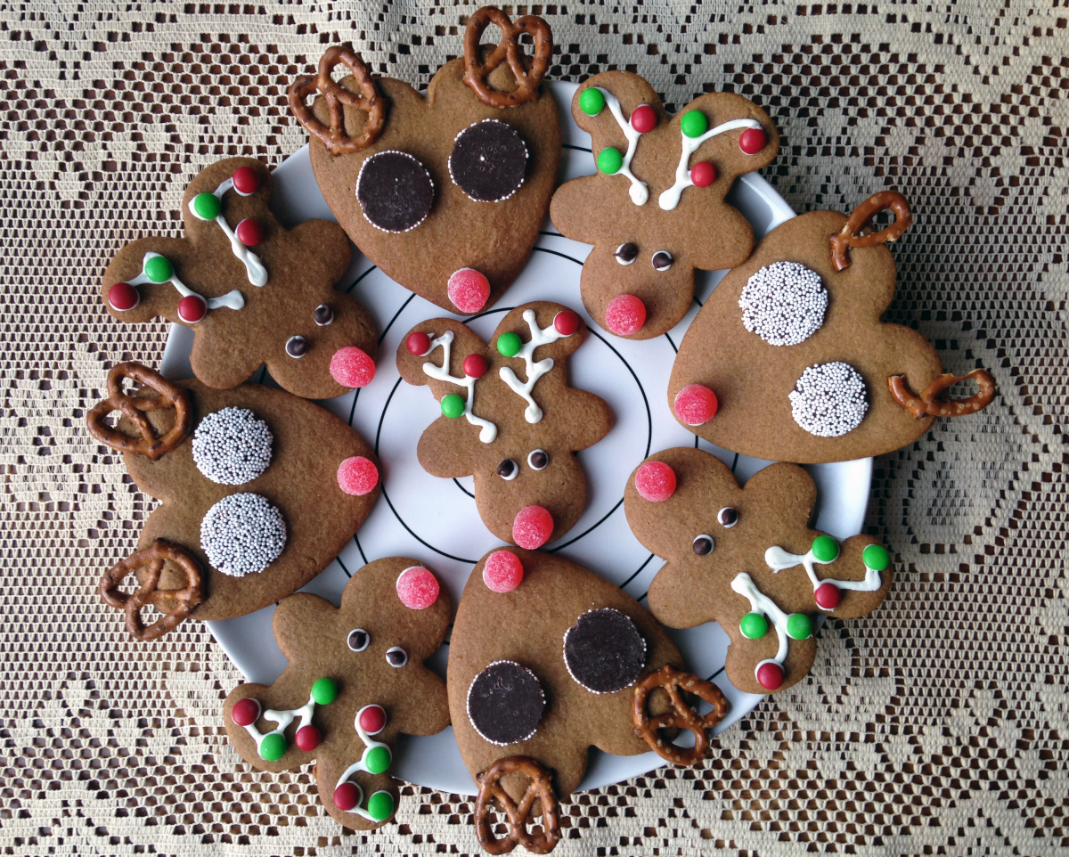 Reindeer Christmas Cookies Are the Perfect Holiday Cooking Project for Kids