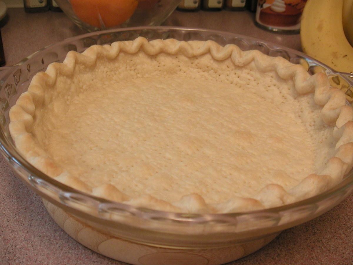 how to make pie pastry with an egg