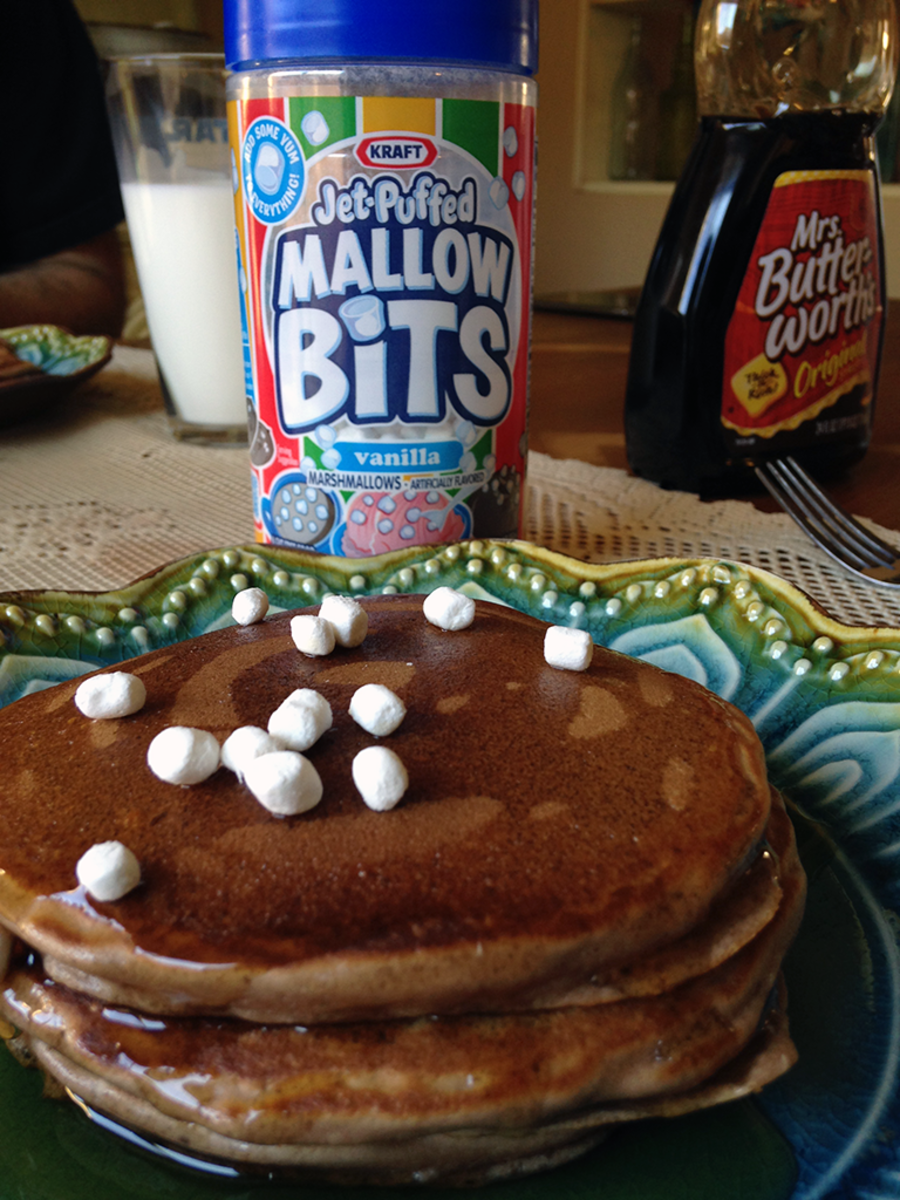 Recipe on How to Make Pancakes With Hot Chocolate Flavors