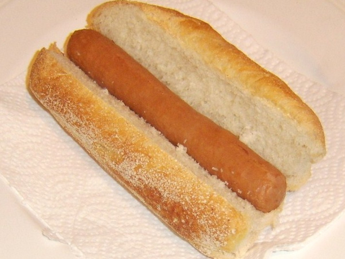 Hot dog added to sub roll