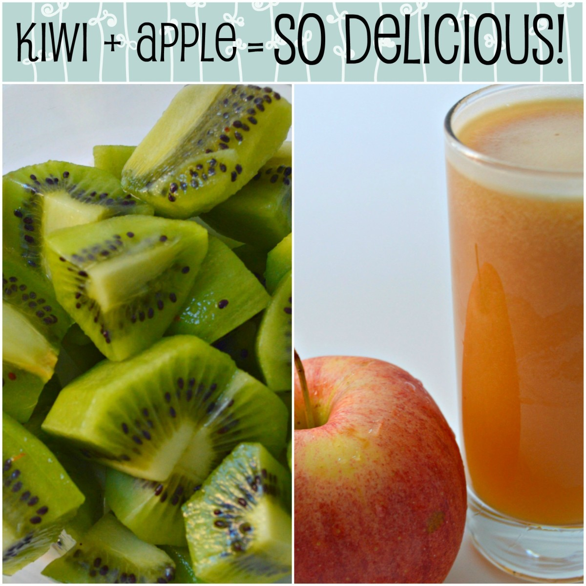 For a purely healthy juice with no sugar added, this is all you need!