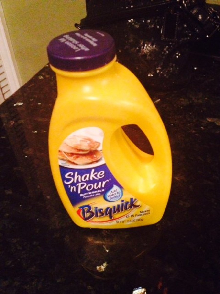 This is the Bisquick shake & pour mix I use.