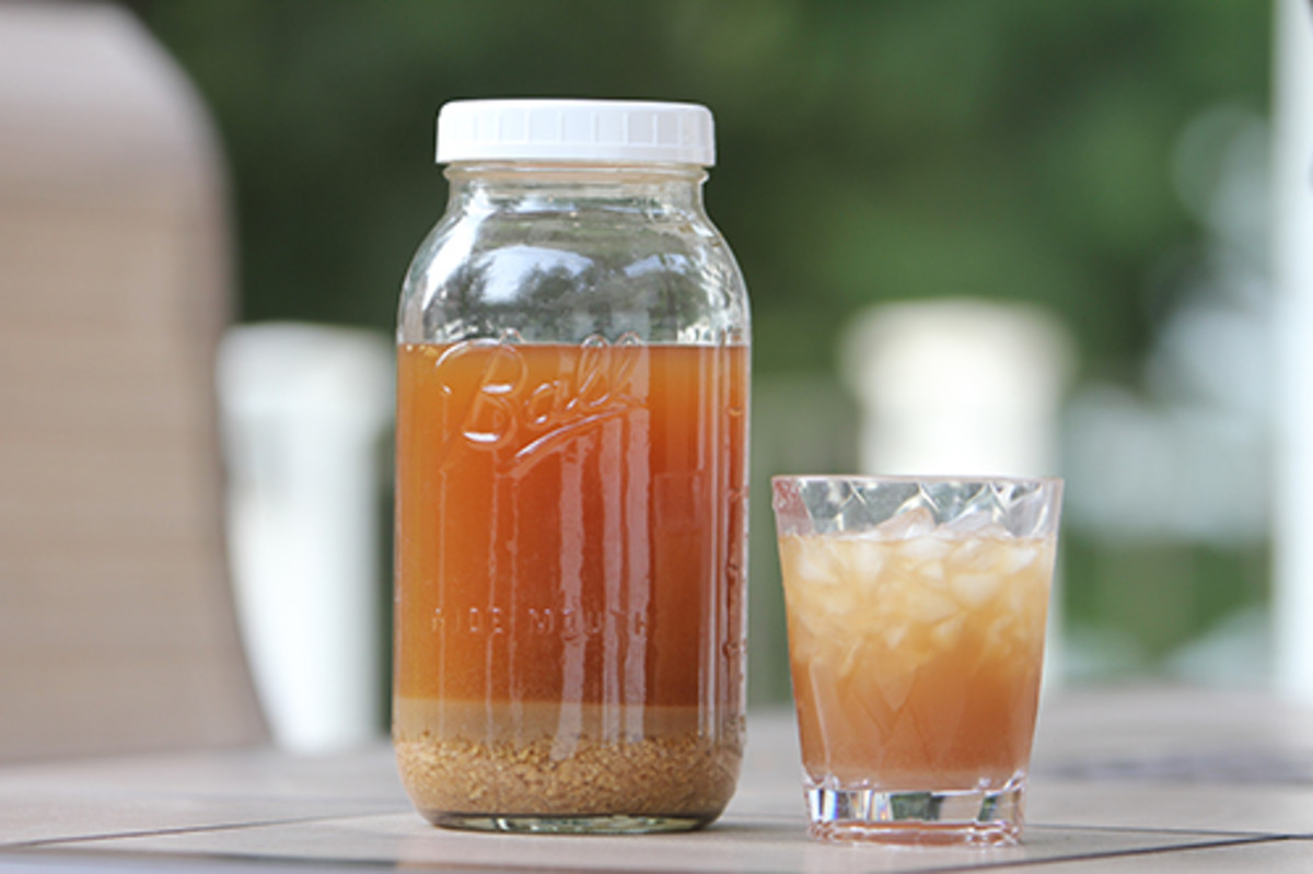 Ginger Beer may produce sediment.