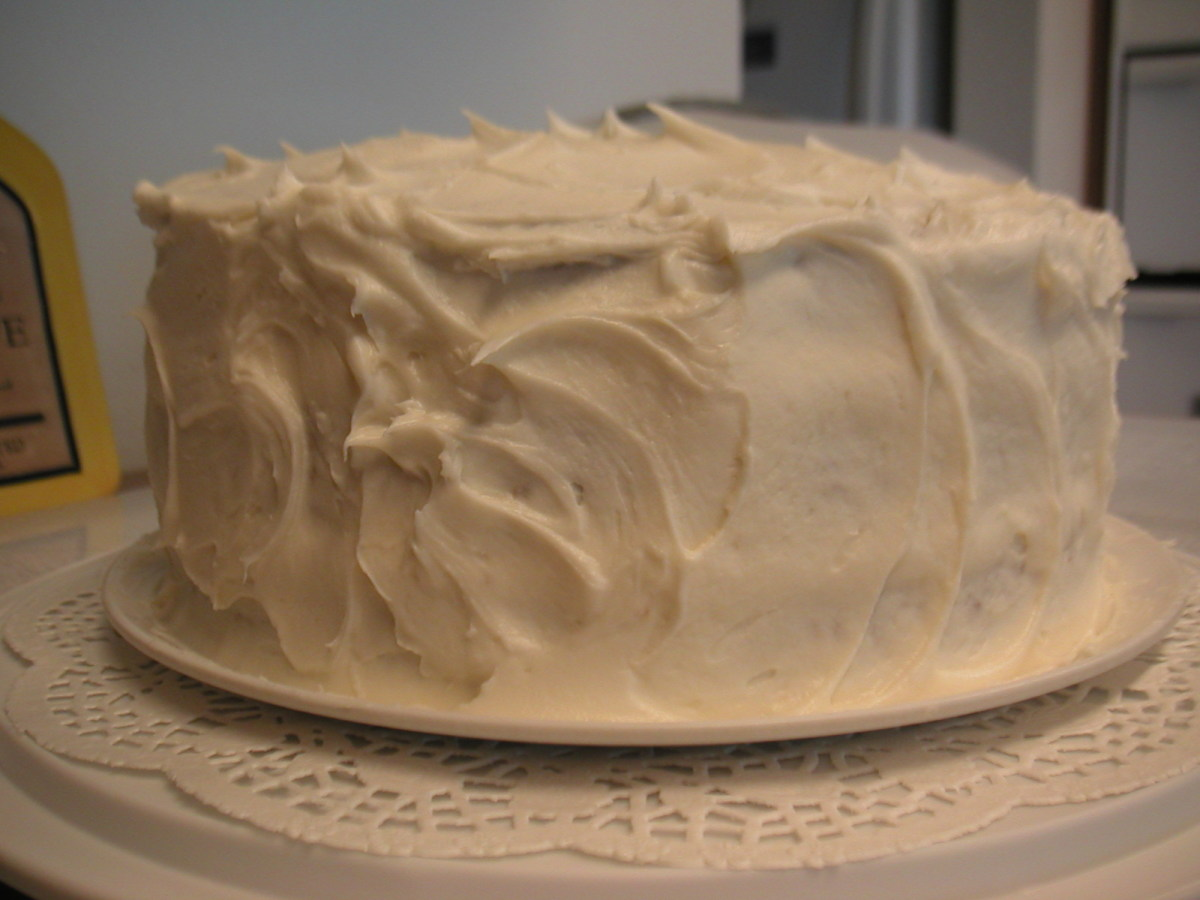 Italian Cream Cake With Cream Cheese Frosting Delishably