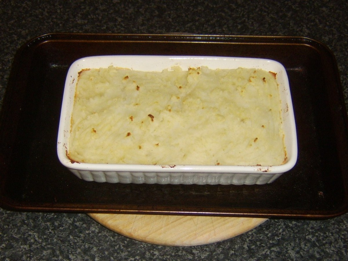 Baked cottage pie
