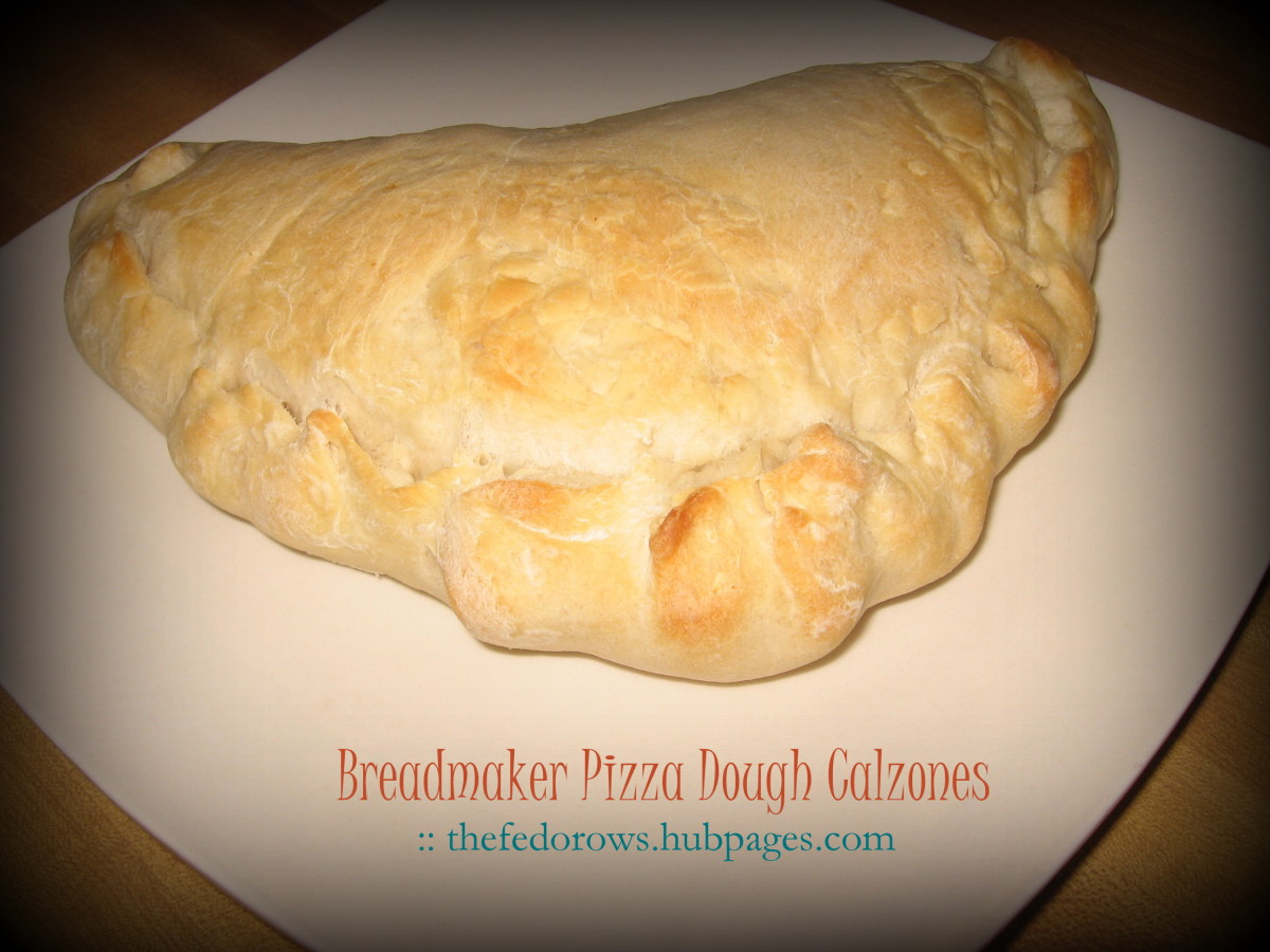 Try a new way to make pizza! Turn the dough into personal calzones.
