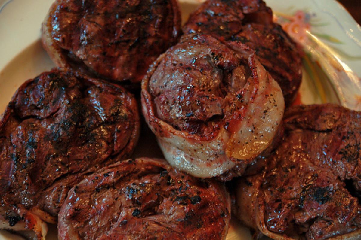 Tender juicy beef bites