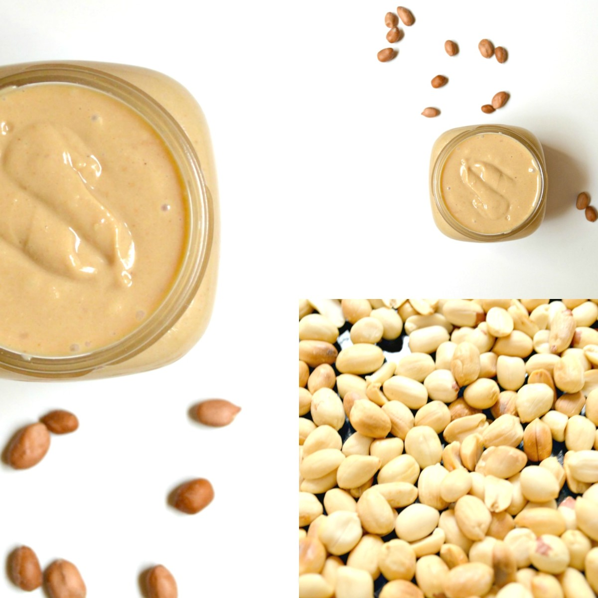 It's easy to make peanut butter at home, with all natural ingredients.