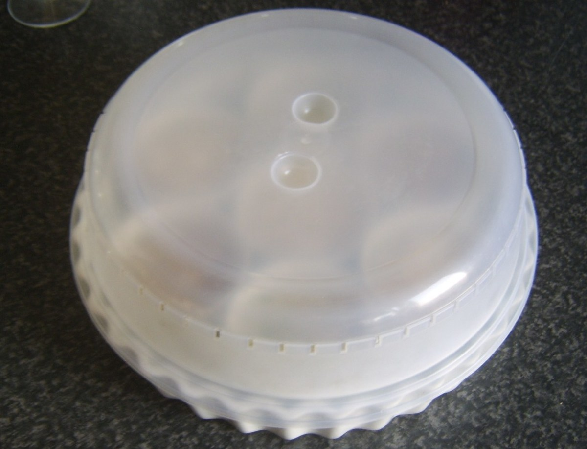 Conger eel platter is covered and the jelly is left to start setting