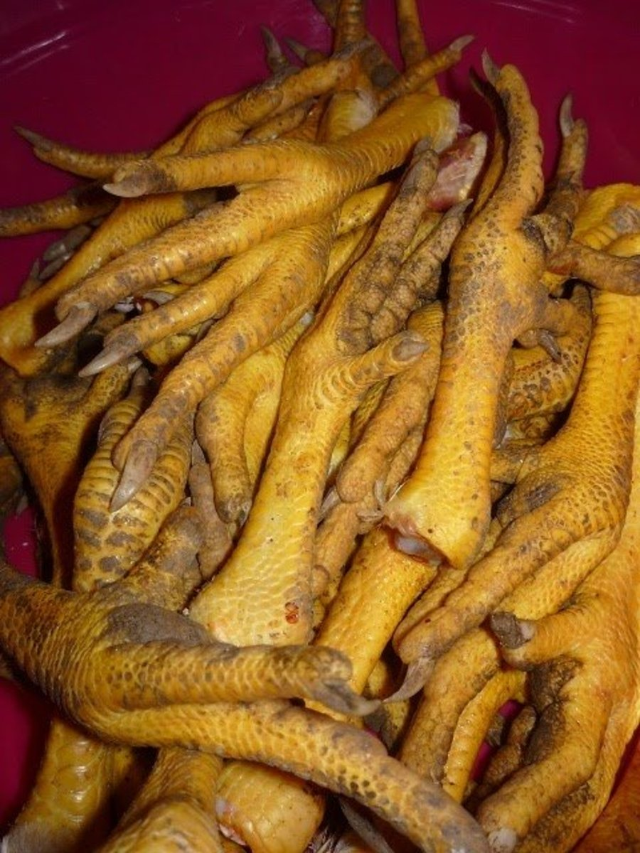 How To Clean Chicken Feet Before Cooking Delishably
