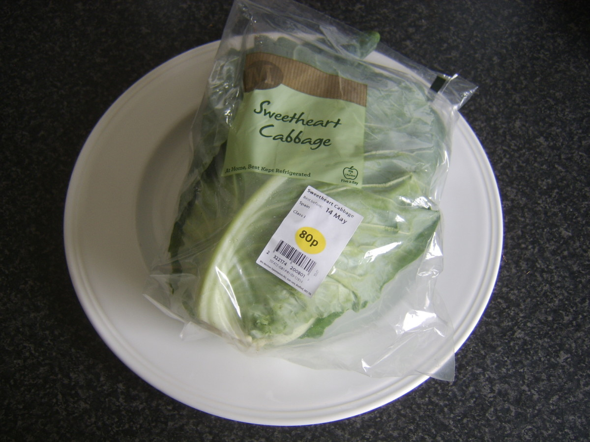Sweetheart cabbage is also known as pointed cabbage.