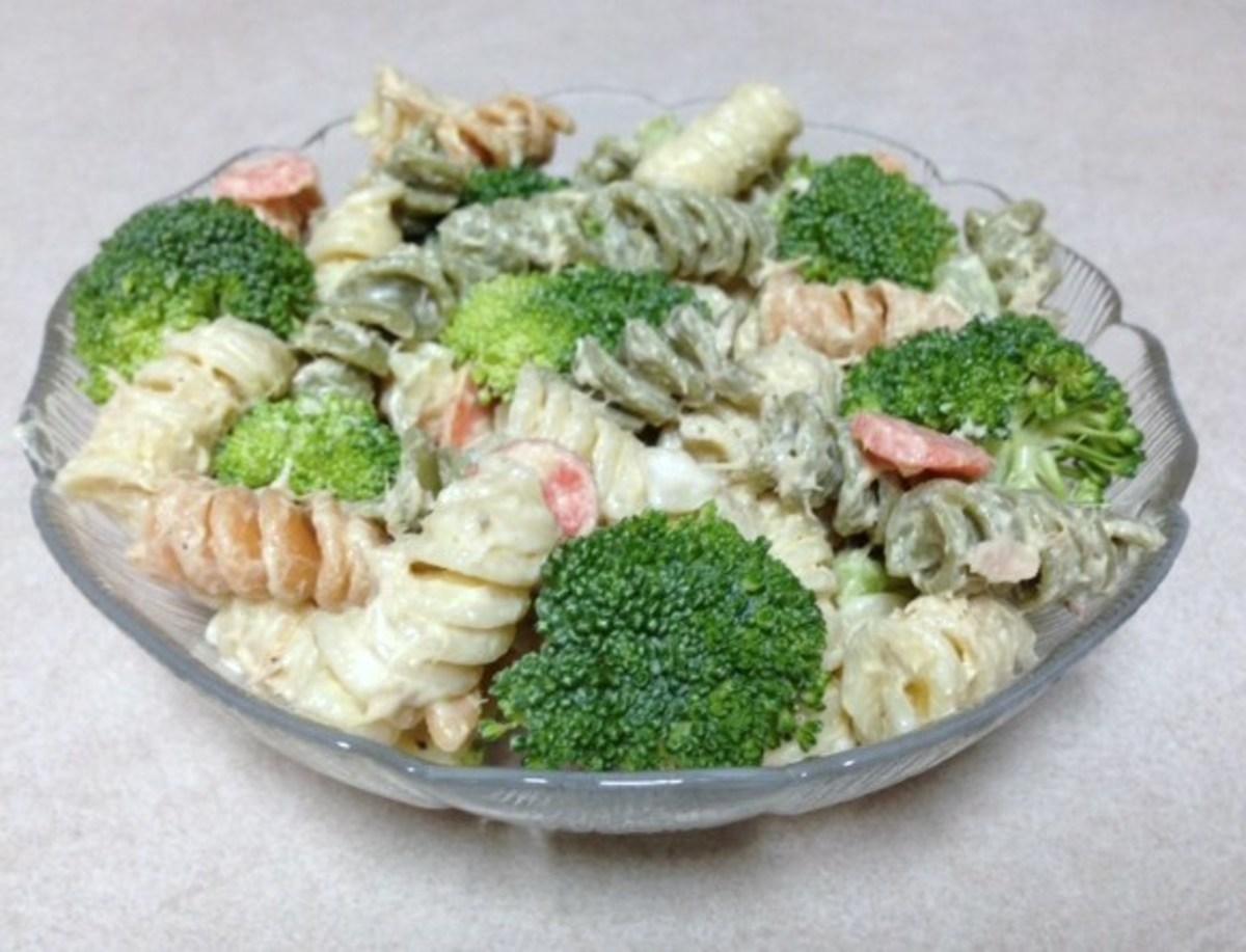 Tuna Broccoli Pasta Salad