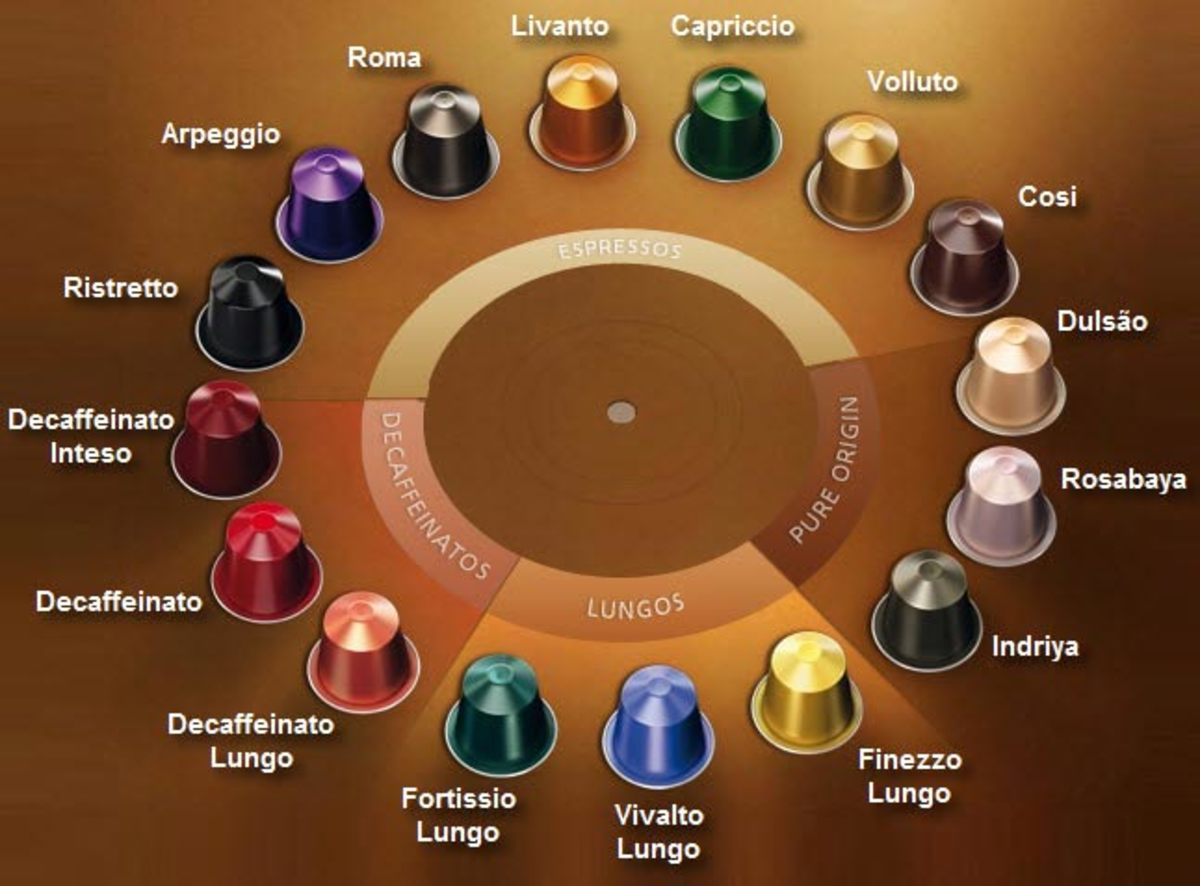 a variety of K-Cups