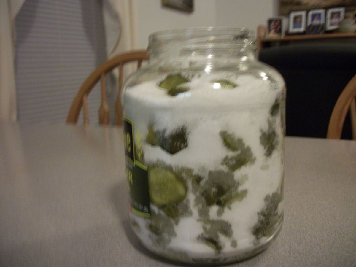 Layer dill pickles and sugar