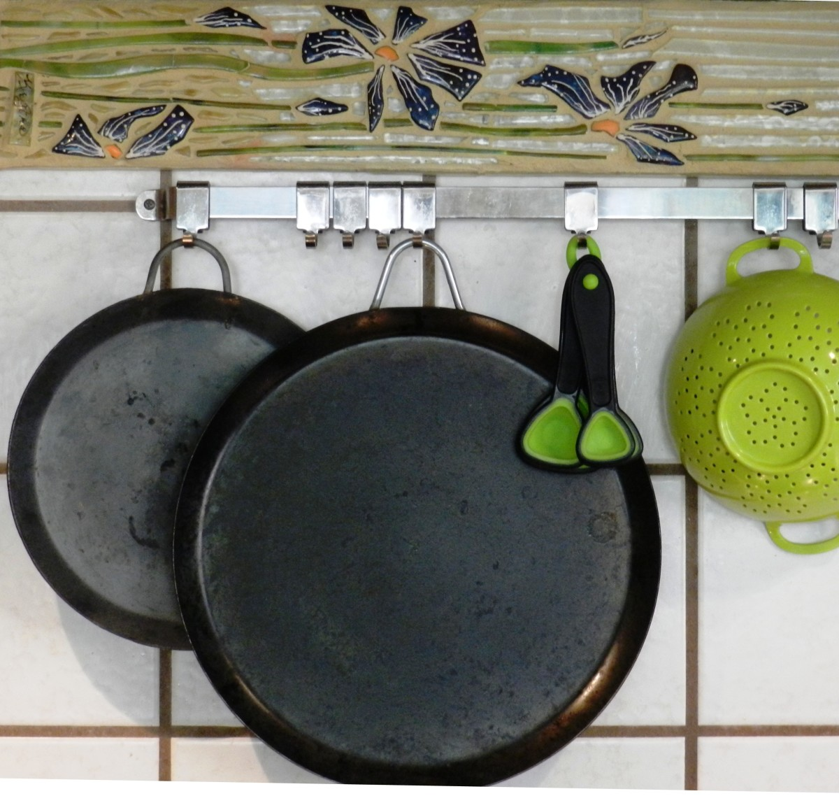 No-hassle, lightweight comal for tortillas.