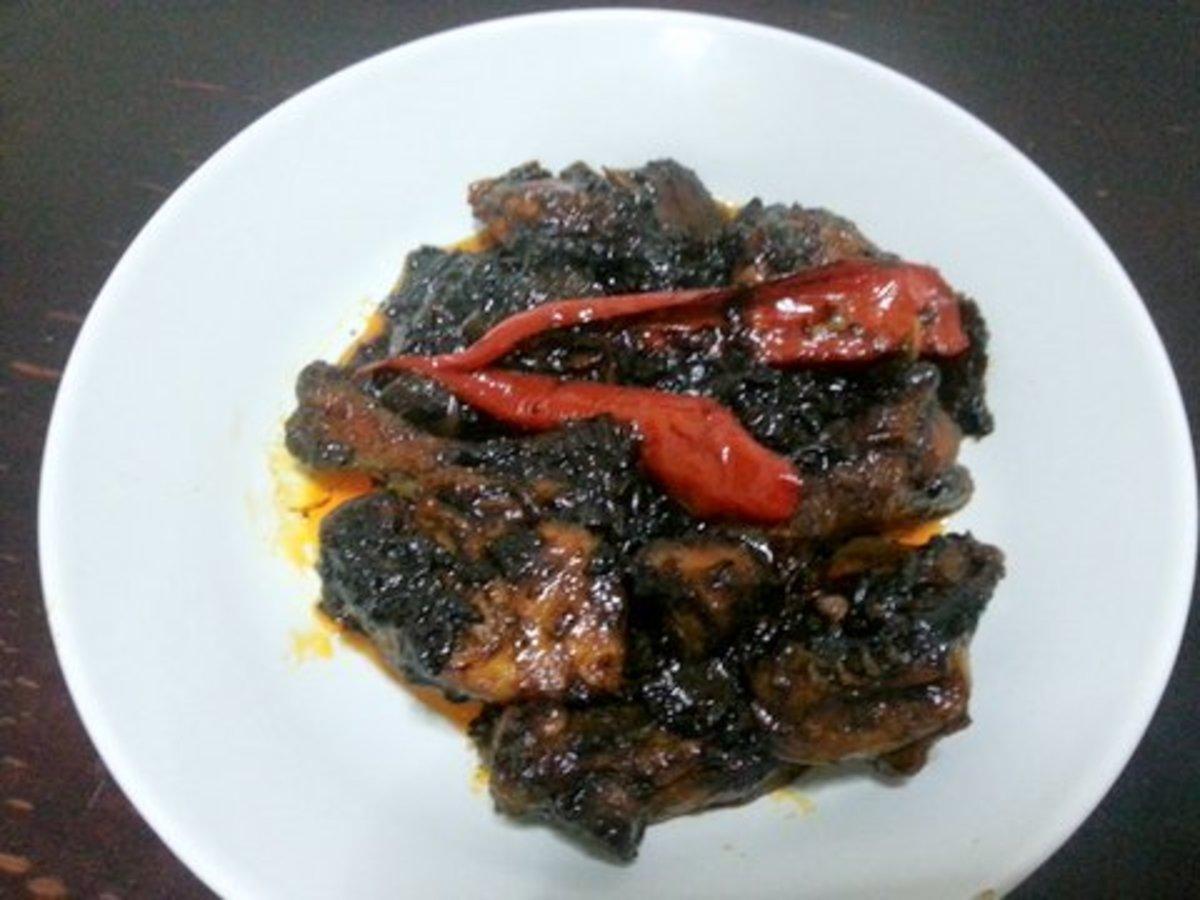 Ayam Masak Kicap Pedas: Malaysian Spicy Soy Sauce Chicken