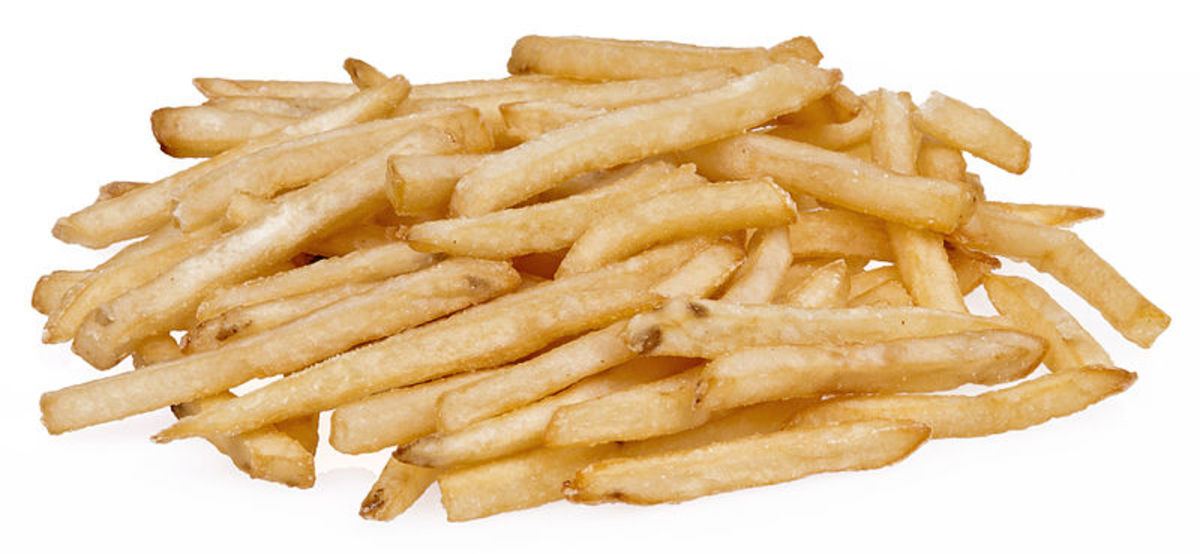 French fries are the perfect example of the baton cutting technique.